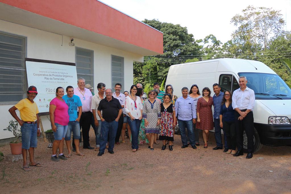 Ato de inauguração dos novos equipamentos foi realizado no último dia 20, nna sede da cooperativa. Foto Catiana de Medeiros.jpg