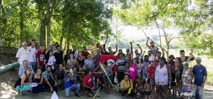 No Rio de Janeiro, acampamento do MST participa de projeto e vira unidade pedagógica em agroecologia