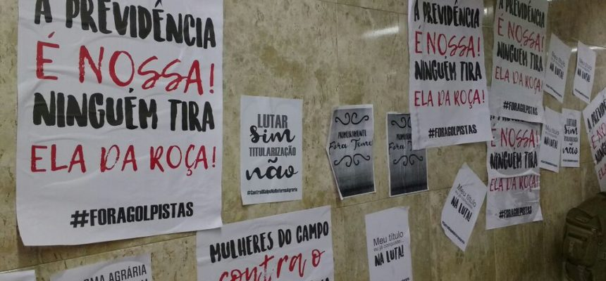 Camponesas ocupam sede do Incra em Maceió, e dão inicio à Jornada de Lutas