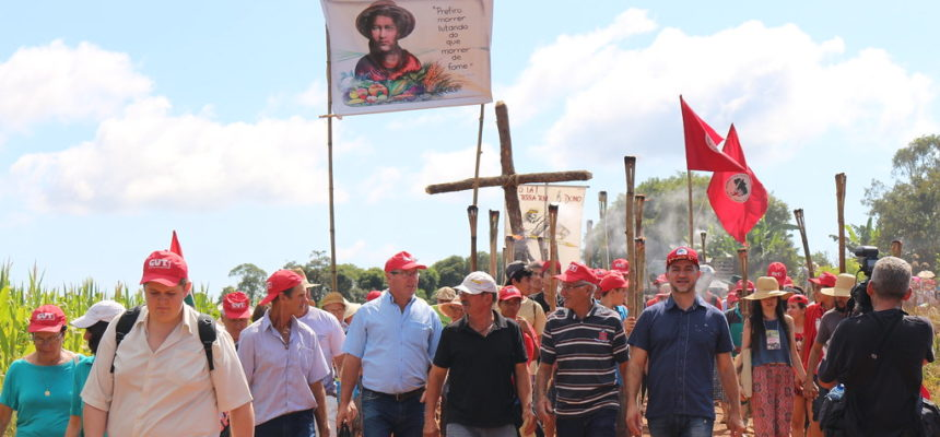 40ª Romaria da Terra resgata luta do MST para conquista da fazenda Annoni