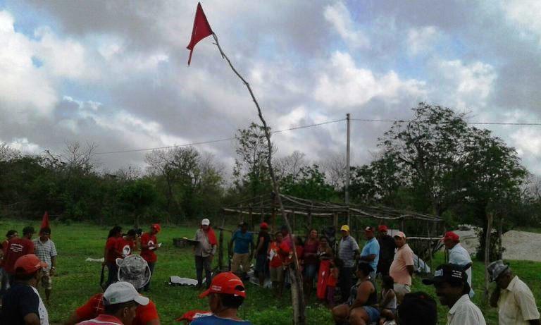 MST reocupa Fazenda em Quixeramobim