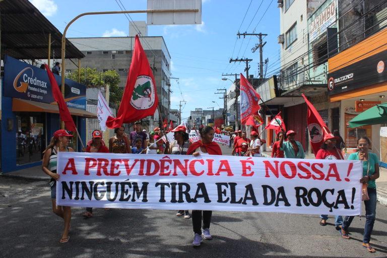 marchas e ocupações marcam o dia de luta das mulheres