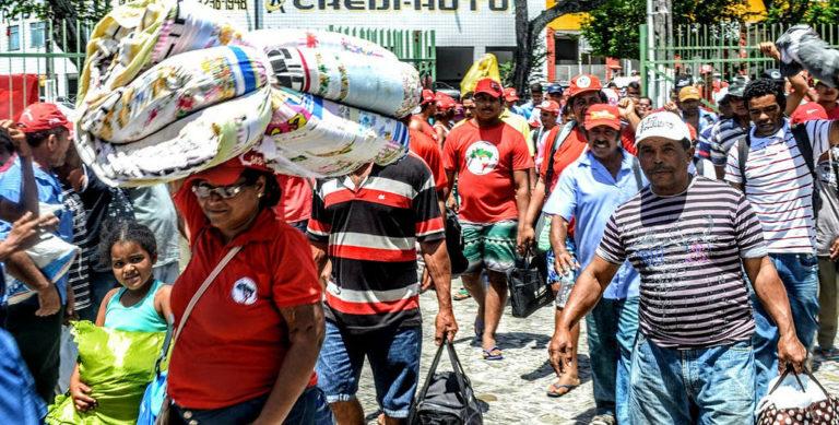 MST repudia ação do Incra em Sergipe