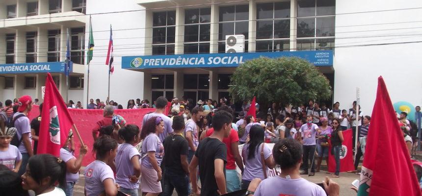 Grandes manifestações por todo o Maranhão marcam o 8 de Março