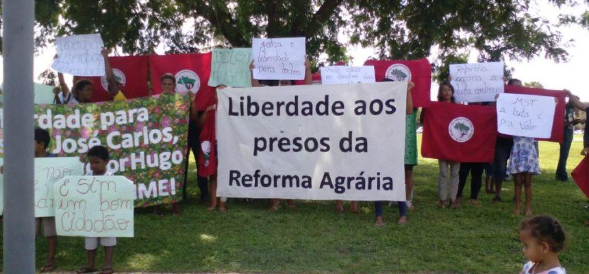 Em Tocantins, mobilização pede liberdade para presos políticos do MST