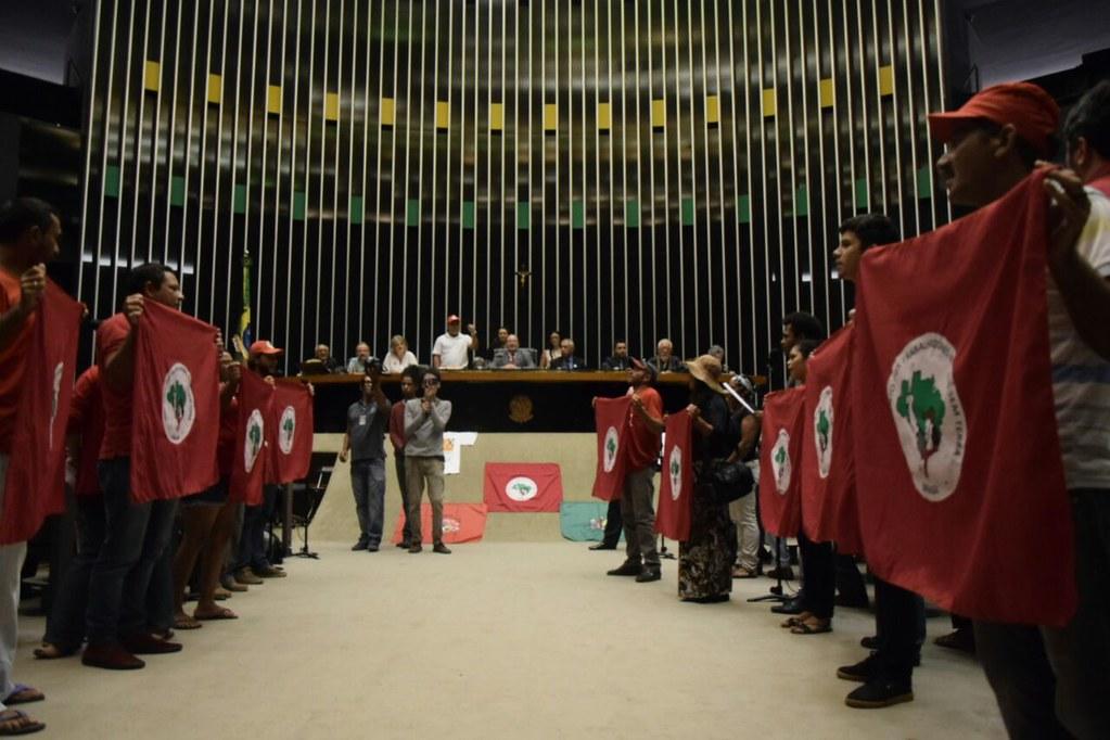 A sessão solene é referente ao dia da reforma agrária, datado em 17 de abril. Foto Márcio Garcez. Assessoria Dep. Fed. João Daniel.jpg