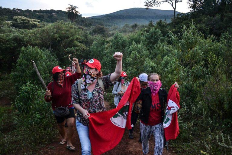 mulheres ocupam fazenda de Eike Batista