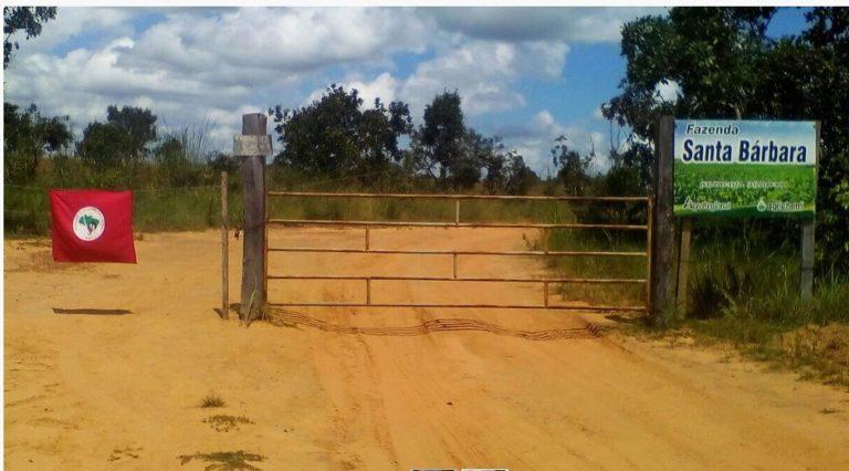 MST ocupa terras públicas da União e reivindica para fins de Reforma Agrária