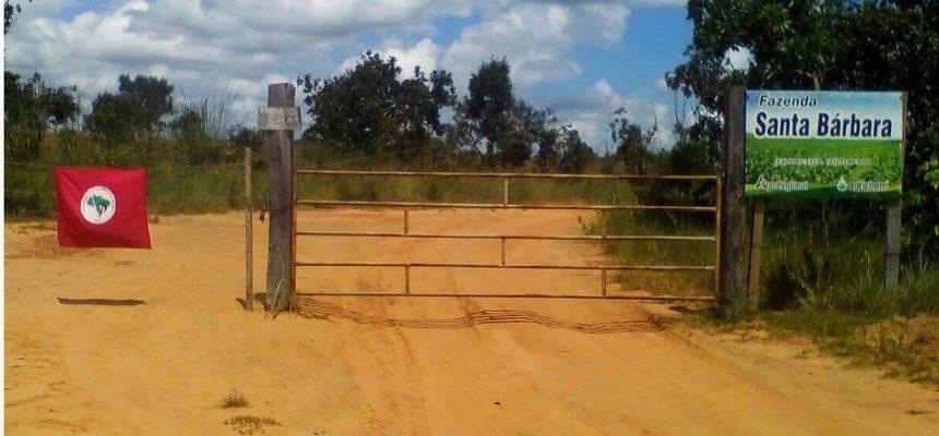 No Tocantins, MST ocupa terras públicas da União e reivindica para fins de Reforma Agrária