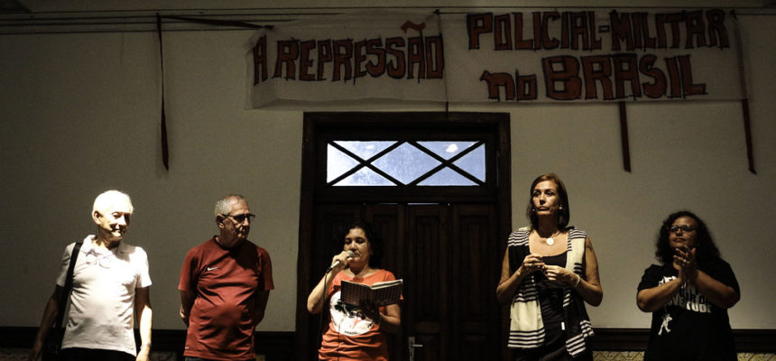 A repressão policial, um livro e João