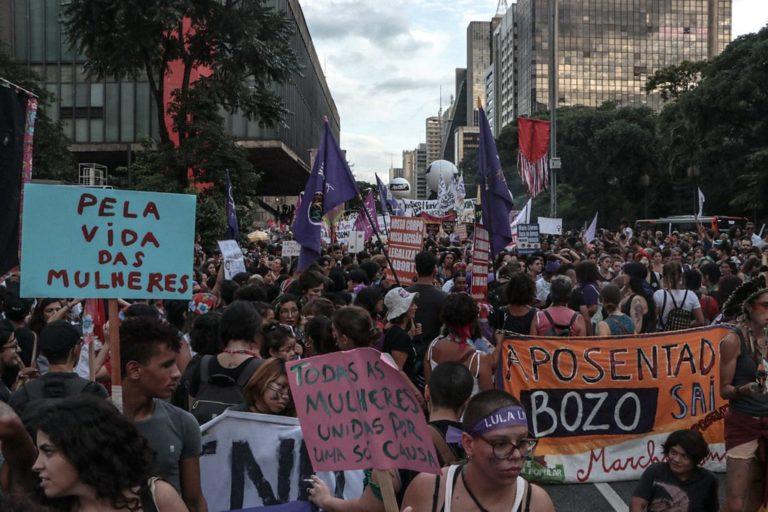 Mulheres Sem Terra participam de mobilizações em todas as regiões do país