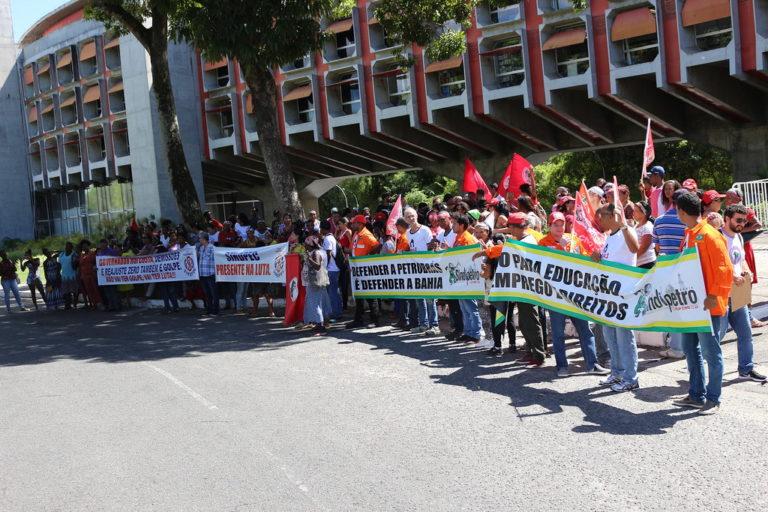 Governador Rui Costa se recusa receber pauta de Movimentos e Organizações Populares