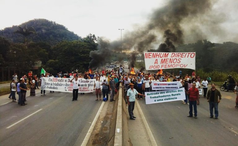 O país amanhece parado em dia de greve geral
