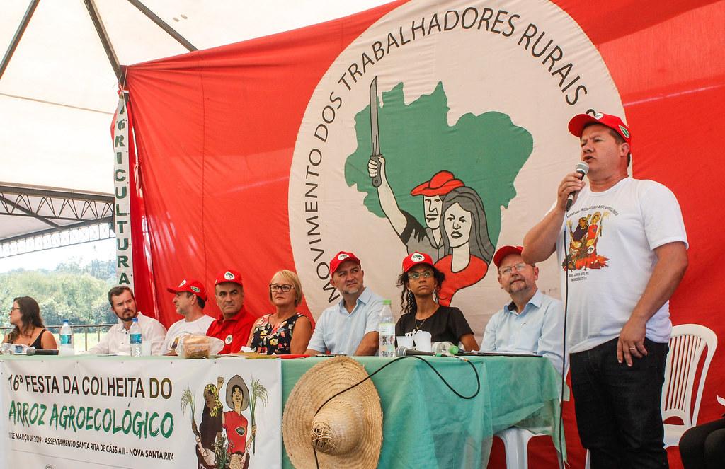 Ato político reuniu lideranças populares, deputados, universitários, chefes de cozinha e representantes de prefeituras de SP e RJ. Foto - Leandro Molina.jpg