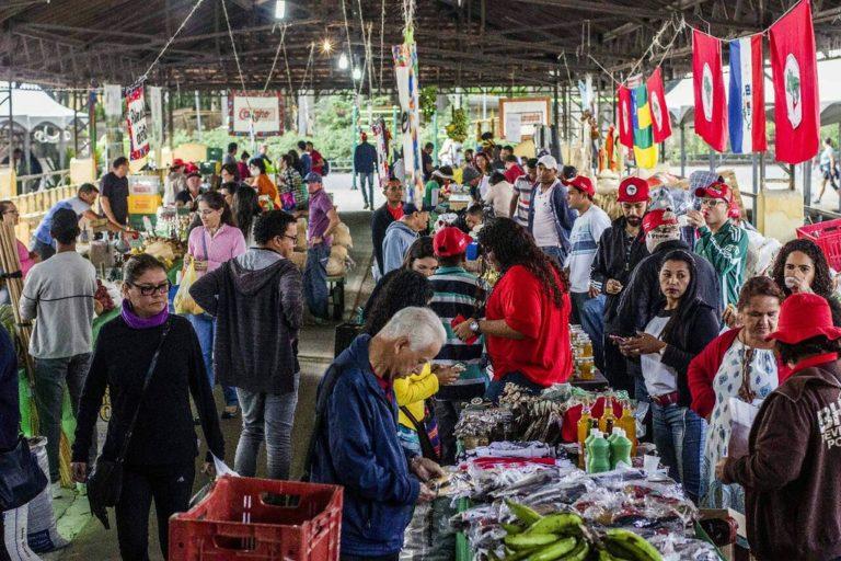 Festival de arte e cultura movimenta a Feira Nacional da Reforma Agrária