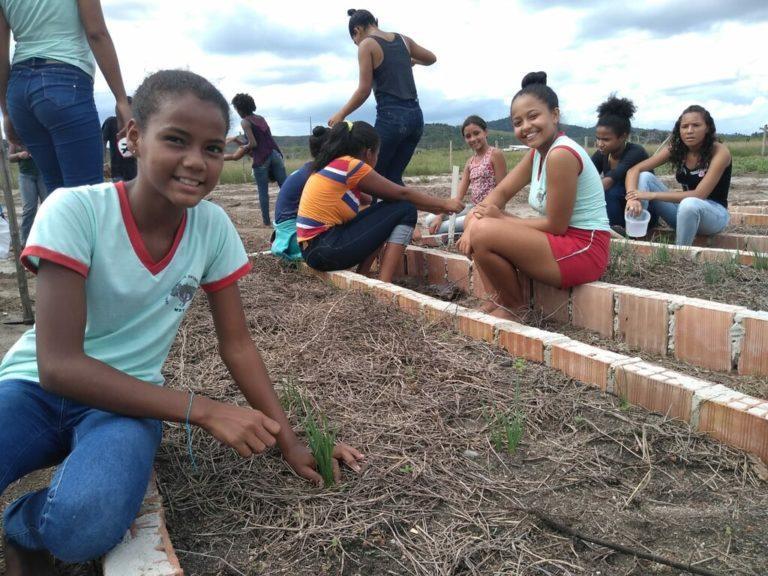 Escola promove o fortalecimento de alimentação saudável para todos