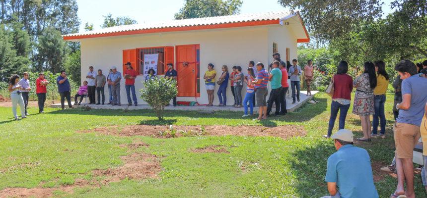 Famílias assentadas na região Central do RS conquistam sonho da moradia digna
