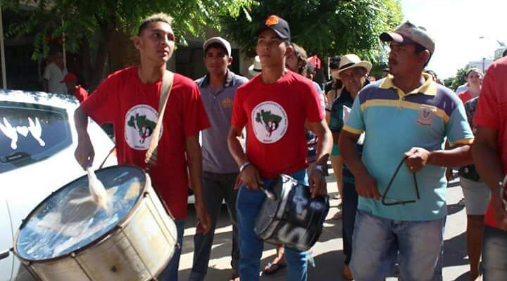 Sem Terra realizam ato em defesa de assentamento no Ceará