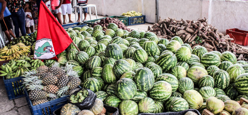 MST doa mais de três toneladas de alimentos em Atalaia