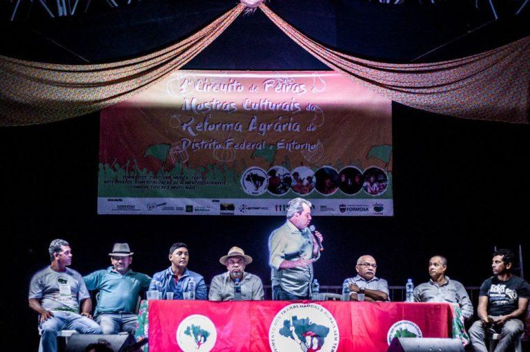ato político reafirma compromissos com a agricultura camponesa