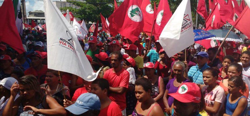 Sem Terra dão início à Jornada Nacional de Lutas pela Reforma Agrária em Alagoas