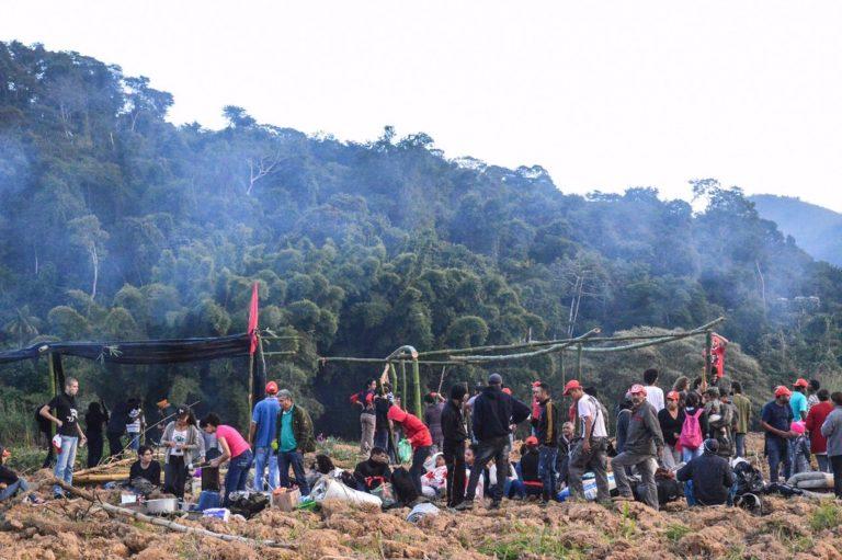 Trabalhadores ocupam latifúndio na zona da mata mineira