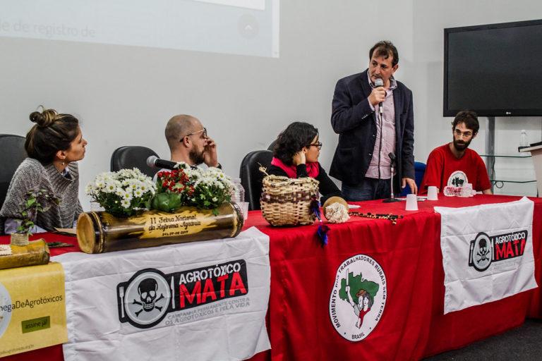 """Plataforma """"ChegaDeAgrotóxicos é lançada na 2ª Feira Nacional de Reforma Agrária"""