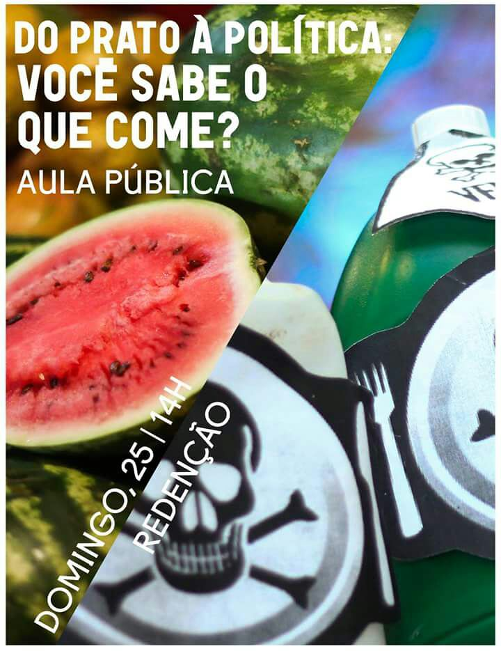 Porto Alegre terá aula pública sobre alimentação saudável