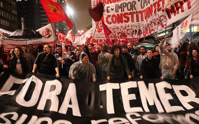 Milhares vão às ruas nesta quinta para pedir renúncia de Temer e Diretas Já!
