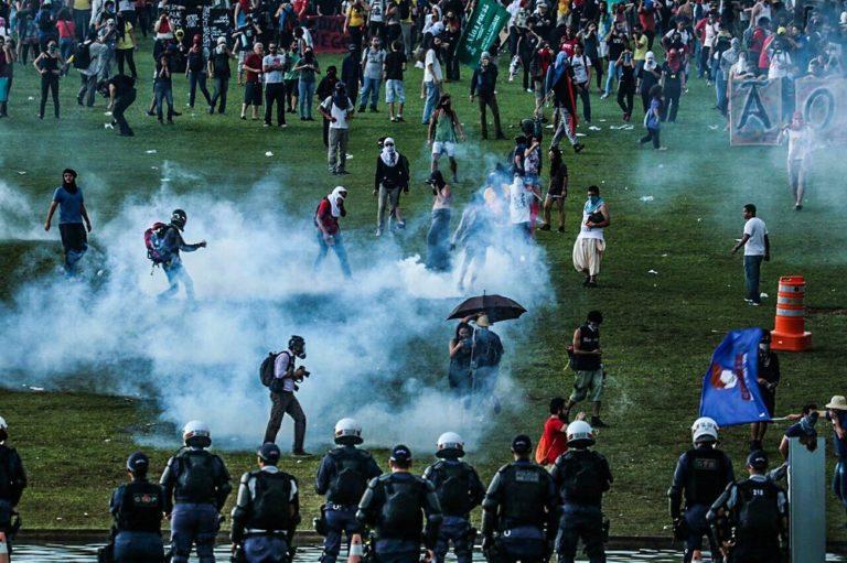 MST condena violência durante a ocupação dos movimentos populares em Brasília