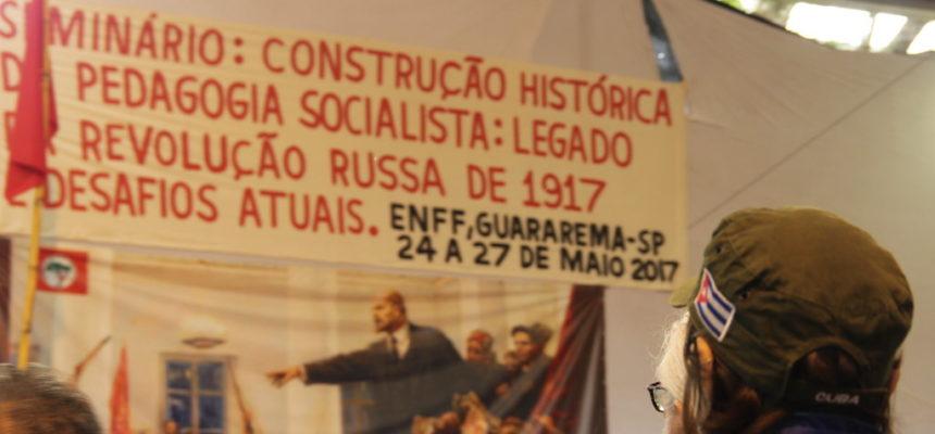 Construção histórica da Pedagogia Socialista é tema de seminário na Escola Florestan Fernandes
