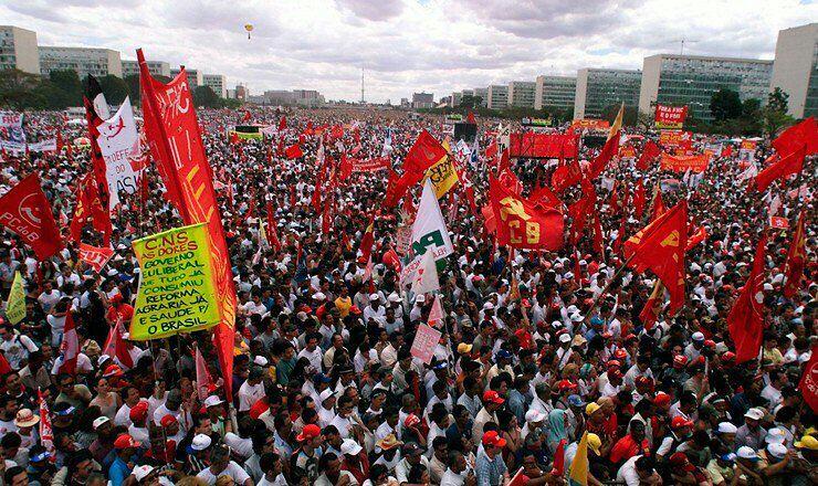 governo tentar conquistar legitimidade com repressão