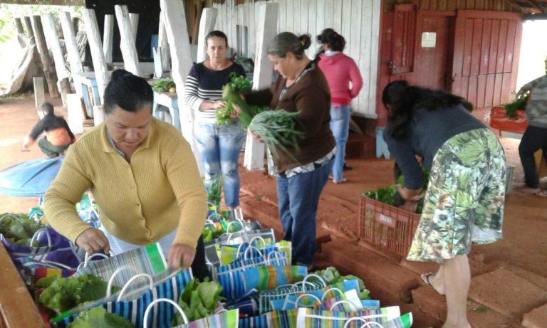 Mulheres do Paraná em defesa da alimentação saudável
