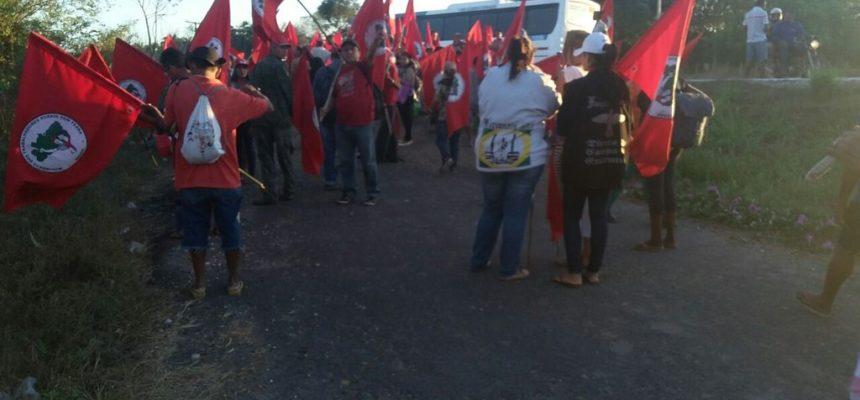 MST realiza ocupação em latifúndio de senador no Piauí