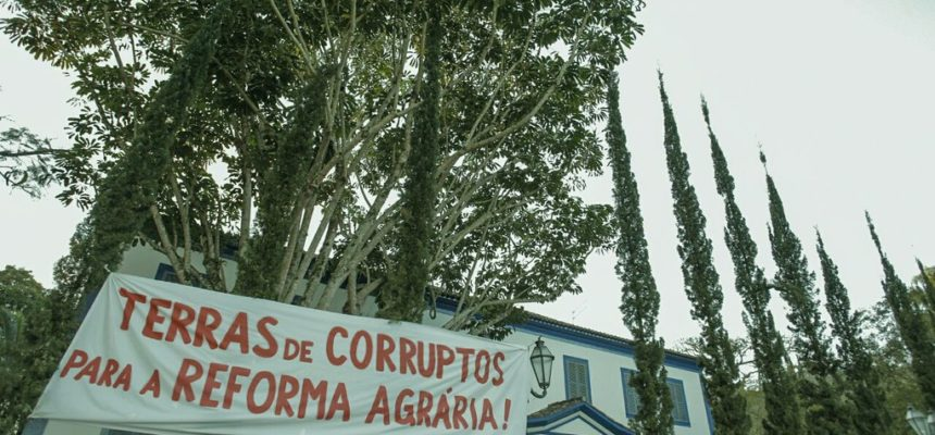 Justiça de Piraí determina saída imediata de Sem Terras da fazenda de Ricardo Teixeira