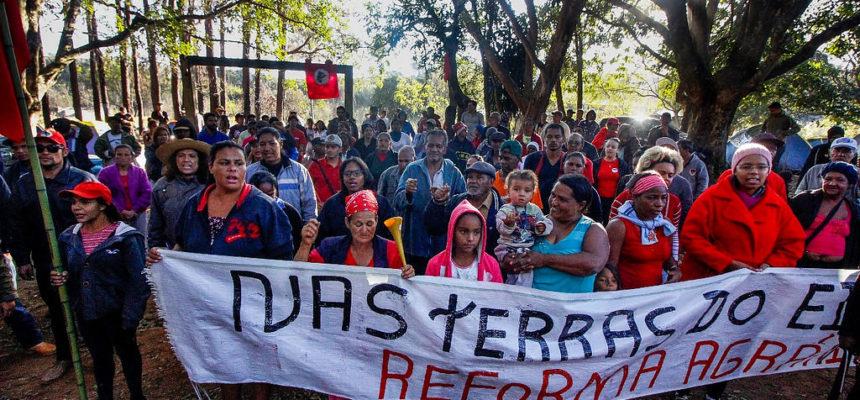 Sem Terra seguem ocupando área de Eike Batista em São Joaquim de Bicas, Minas Gerais