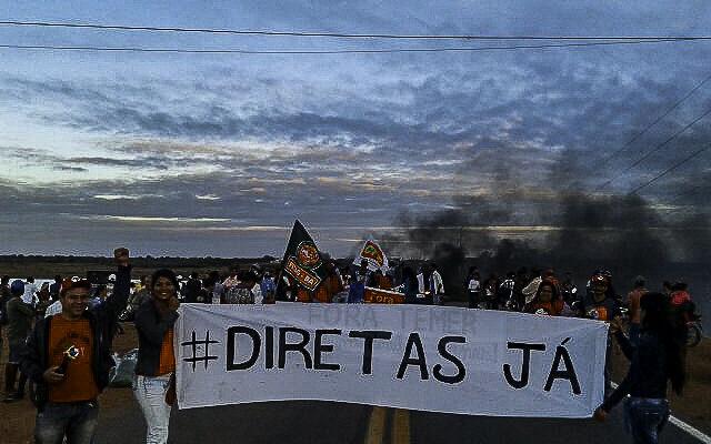 É Greve Geral: a Bahia para contra a retirada de direitos