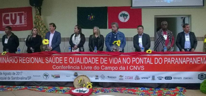 MST realiza II Seminário regional de saúde e qualidade de vida do Pontal do Paranapanema em São Paulo