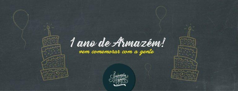 Armazém do Campo comemora 1 ano em São Paulo