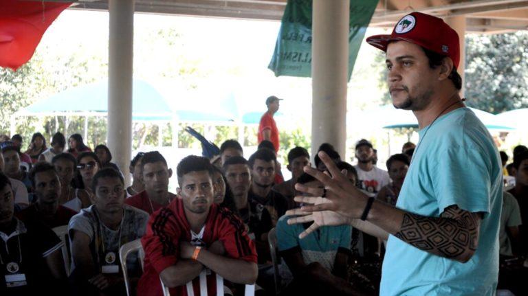 Juventude Camponesa ocupa Secretaria de Educação durante encontro em Tocantins