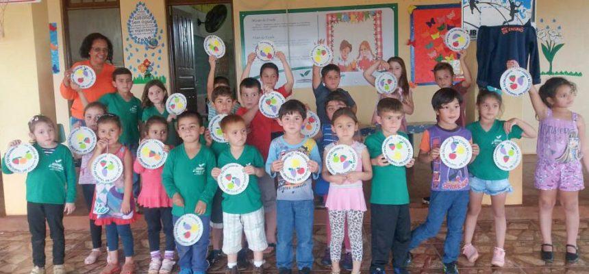 Alimentação saudável é tema de oficina em escolas de São Luiz Gonzaga, no RS