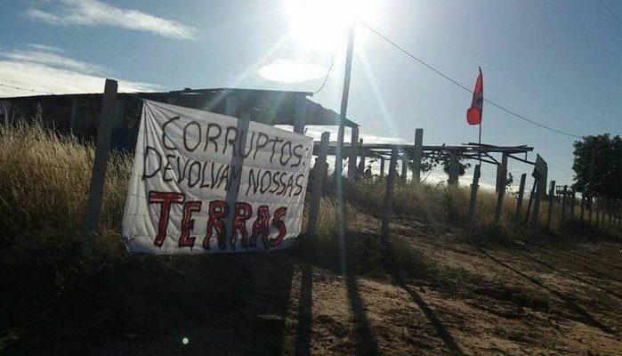No Rio Grande do Norte, Sem Terra ocupam mais um local no Perímetro Irrigado do Apodi
