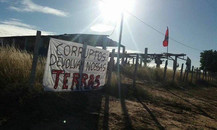 Sem Terra ocupam mais um local no Perímetro Irrigado do Apodi