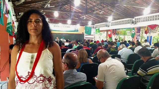 Marina dos Santos traz mensagem do MST à VII Conferência da Via Campesina