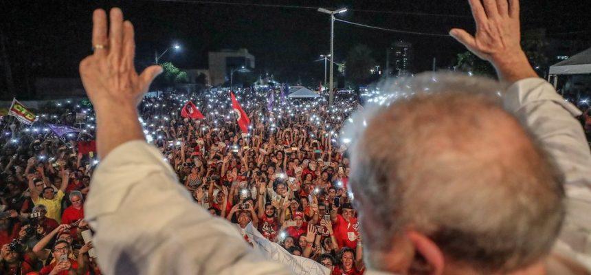 No RN, Lula defende a Petrobrás e a democratização da comunicação