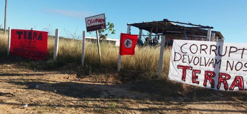 Sem Terra ocupam perímetro irrigado no Rio Grande do Norte