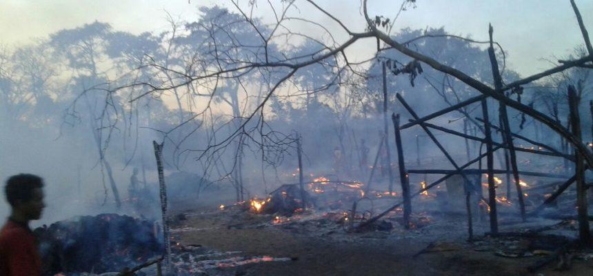 Incêndio criminoso em acampamento Sem Terra no Tocantins