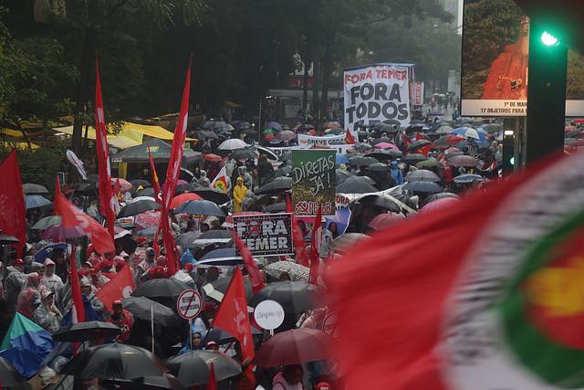 Frente Brasil Popular chama ato em todo país