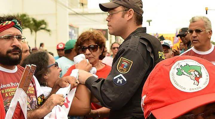 Grito dos Excluídos denuncia a violência usada contra manifestantes no RN