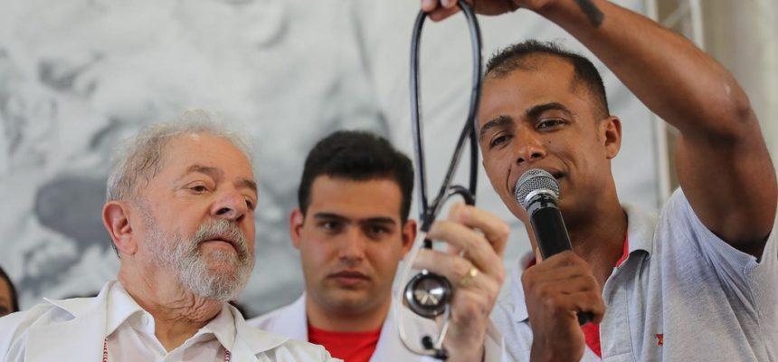 Médicos do MST cuidaram da saúde de Lula durante a Caravana pelo Nordeste